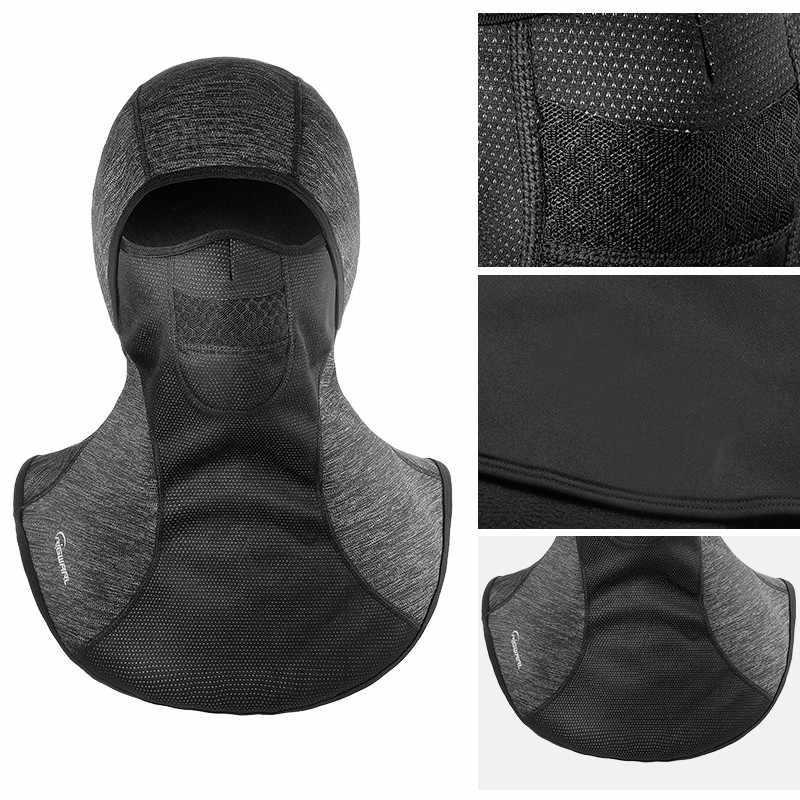 Moto Maschera Balaclava Inverno Moto Viso Scudo Equitazione di Protezione Da Sci Antivento In Pile Termico Del Cranio Viso Maschera Biker Unisex
