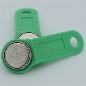 wholesale 1000pcs original Dallas DS1990A-F5 iButton Keyfob electronic door locks key