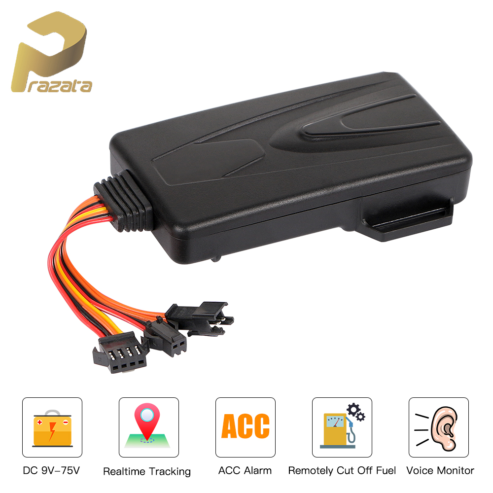 3G GPS Tracker Car Tracking Locator Cut Off Fuel Voice Monitor GPS Car Tracker Real Time Tracking Device Shock Alarm Free APP