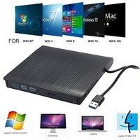 USB 3.0 DVD Drive Externe DVD RW CD Schriftsteller Stick Brenner Reader Player Optische Laufwerke für Laptop PC|Optische Laufwerke|Computer und Büro -