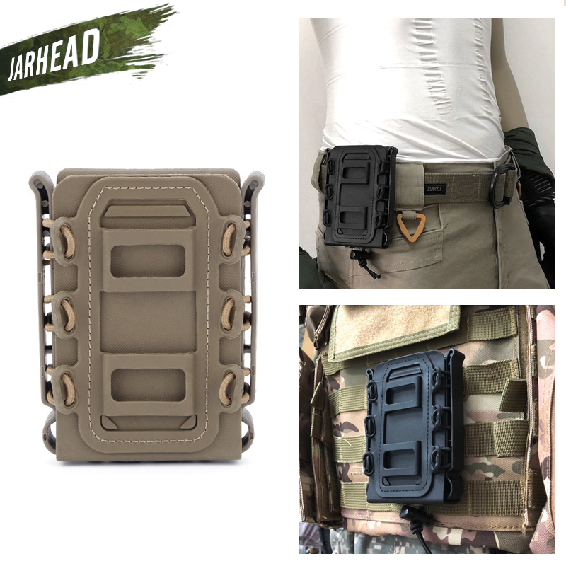 Pro Molle Tactical Rifle//Pistol Mag Magazine Pouch Bag Holder 9mm 5.56mm//7.62mm