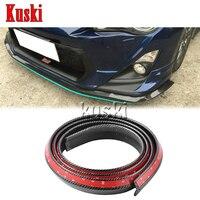 2.5m Car Front Chin Spoiler Body Stickers For kia Rio K2 Ceed Soul Cerato Sorento Sportage Accessories
