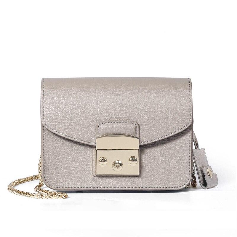 Designer en cuir véritable Mini bonbons sacs à bandoulière mode dames sacs de luxe 2019 femmes Messenger sac marque chaîne sac à bandoulière