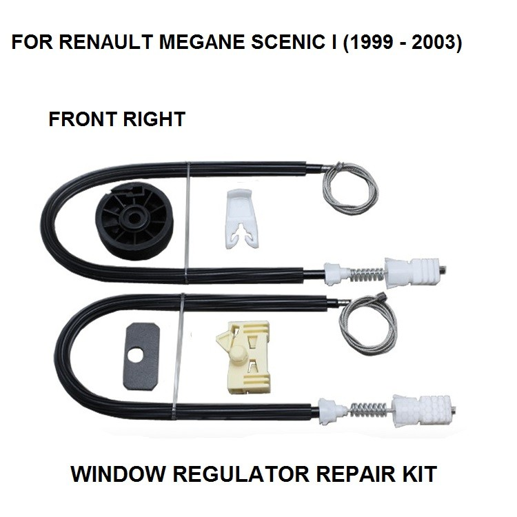 SEAT LEON WINDOW REGULATOR REPAIR KIT FRONT RIGHT HAND SIDE