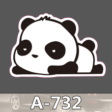 A 732 Panda Waterproof Cool DIY Stickers For Laptop Luggage Fridge Skateboard Car Graffiti Cartoon Sticker