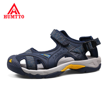 Сандалии мужские/женские сетчатые, дышащие быстросохнущие, резиновая обувь, для пляжа и отдыха на открытом воздухе, летние сандалии
