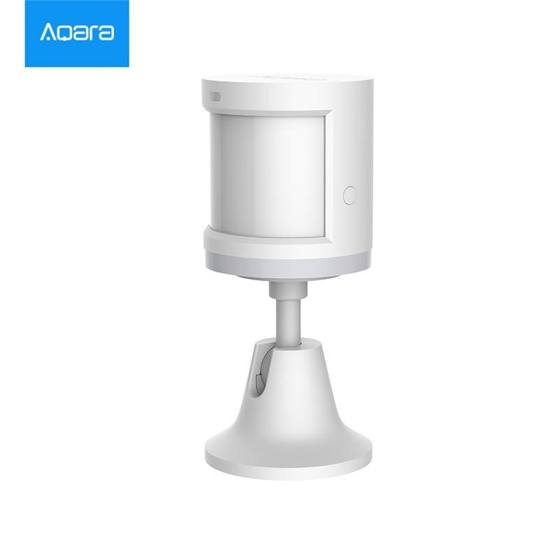 Auf lager, xiaomi Aqara Körper Sensor & Licht Intensität Sensoren, zigBee wifi Drahtlose Arbeit für xiaomi smart home mi jia mi hause APP
