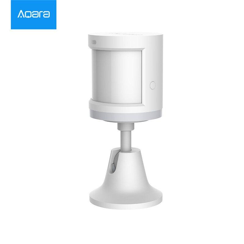 En stock xiaomi Aqara Sensor del cuerpo y la intensidad de la luz los sensores zigBee Wireless wifi para xiaomi casa inteligente mi jia mi casa APP