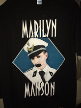 vintage MARILYN MANSON t-shirt Grotesk Burlesk tour 2003 t-Shirt USA SIze T Shirt Hot Topic Men Short Sleeve