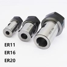 DIY ER11 ER16 ER20 5 мм 6 мм 6,35 мм 7 мм 8 мм 10 мм 12 мм 14 мм 16 мм держатель шпинделя патрон Высокоточный гравировальный станок