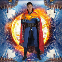 Doctor Strange Costume Stephen Steve Strange Cosplay Outfit Superhero Halloween Carnival Clothes Party Men Custom Made Adult