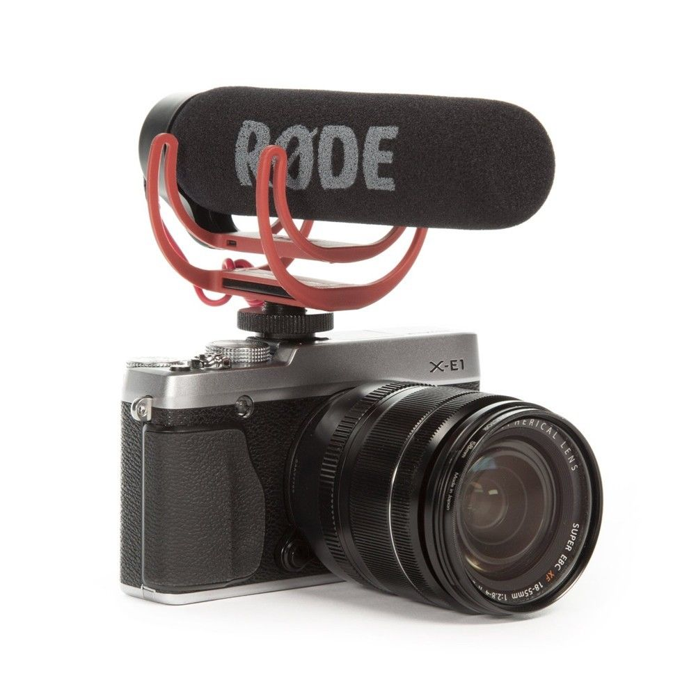 Rode VideoMic Go Video On-Camera Mount Rycote Lyre Interview Microphone for Canon Nikon Sony DSLR Camera Mobile Phone