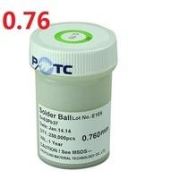 0.76mm 250K PMTC BGA Leaded Ball solder balls For BGA Reballing