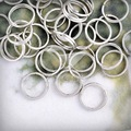 30g Approx 150pcs 8mm Iron Round Nickel Plated Open Jump Rings Gauge 20 Making DIY Bracelet Jewelry Wholesale JR0033