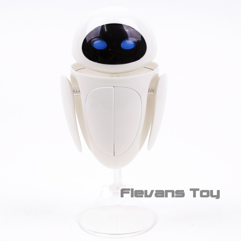 Image 3 - WALL E Transforming EVE 6 Eye Expressions PVC Action Figure Collectible Model Toy Christmas Birthday GiftAction & Toy Figures   -