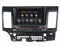 8 Car DVD player with GPS(opt),BT/TV,audio Radio stereo car multimedia for Mitsubishi LANCER 2006 2007 2008 2009 2010 2011 2012