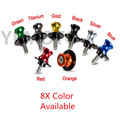 6mm Motorcycle 8 Color CNC Swing Arm Sliders Spools For Yamaha R1 R6 FZ1 FZ6 FAZER FZ6R MT-01