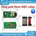 + Качество Одной плате с Новый NEC реле multidiag pro plus 2015.1 бесплатный активность TCS CDP PRO PLUS новый vci cdp pro с bluetooth
