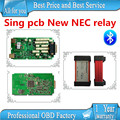 A+ quality Single pcb with New NEC relay multidiag pro plus 2015.1 free active TCS CDP PRO PLUS new vci cdp pro with bluetooth