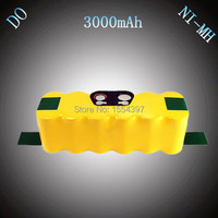 14 4V NI MH 3000mAh Rechargeable Battery Replacement For IRobot Roomba 520 630 700 80501 510
