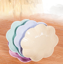 1PC Creative European Household Fruit Plate Living Room Tea Table Plastic Candy Tray Office Snack Pan OK 0834