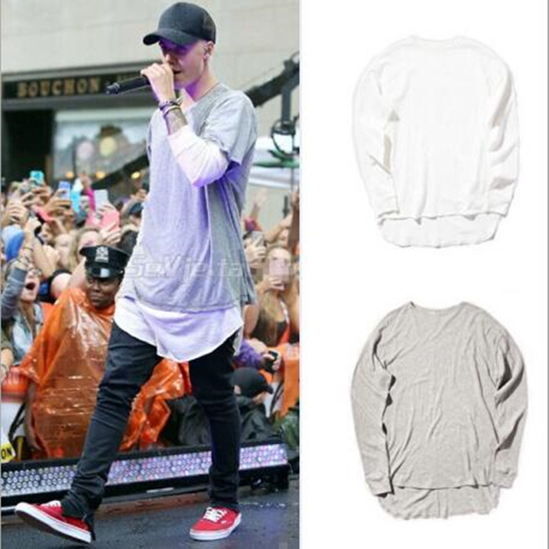 Popular justin clothes buy cheap justin clothes lots from for Brand name long sleeve t shirt