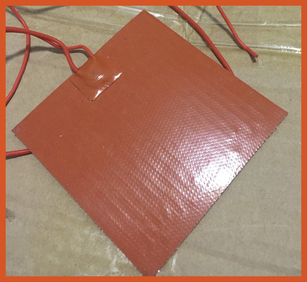 200x200mm 200W 220V Silicone Heater mat Heating Element heating plate Electric pad For Special heat board