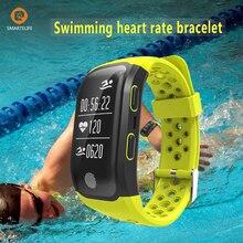 Smartelife GPS Водонепроницаемый спортивный смарт-браслет Напульсники Одежда заплыва Велоспорт Бег сердечного ритма Мониторы для Android IOS IPhone