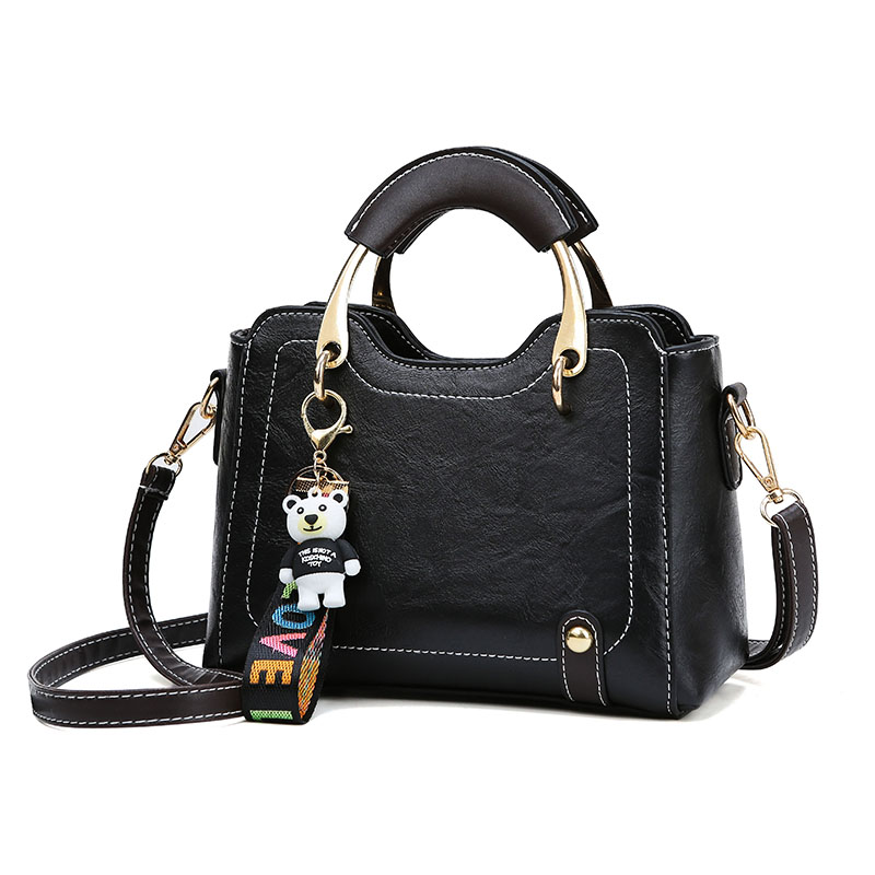 Women 39 s bag Women Leather Handbags Vintage Lady Hand Bags Women messenger Shoulder bag women luxury in Shoulder Bags from Luggage amp Bags