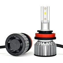 Car Led Headlight Bulb H4 H7 LED H11 H1 H3 9005 9006 HB4 H13 9004 9007 880 881 H27 Auto Lamp Araba Light 12V 24V 12000LM 6000K nao h7 led h4 led bulb car light headlight bulbs 12v h11 h1 h3 h8 h9 hb3 9005 hb4 9006 h27 880 881 h13 automobiles lamp light f2