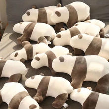 Quality Stitches Adorable Panda Plush Toys Pillow Stuffed Animals Bed Sofa Cushion Appeasing Toy For Childrens Gifts