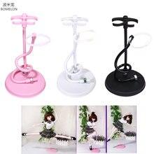 Bjd Support de poupée Support Flexible pour Bjd 1/3 poupée blanc/noir/rose Support de présentoir en métal pour accessoires de poupées