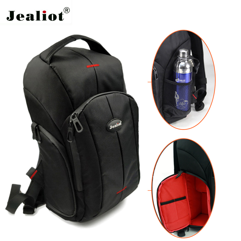 Jealiot camera bag for the camera DSLR SLR Photo backpack video camera photography bag waterproof lens case for Canon Nikon Sony waterproof dslr camera backpack bag cover for canon eos nikon sony alpha panasonic olympus omd fujifilm lens bag shoulder case