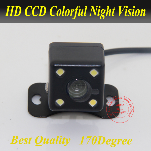 Parking Assistance System Universal HD CCD 4 LED Night Vision Car Rear View Camera Backup side 170 degree waterproof For All Car Lahore