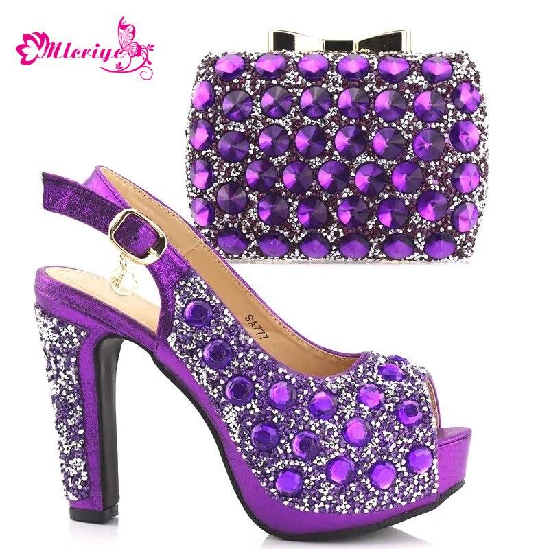 3b7b7ddf0ddc Chaussures Partie pourpre De D or Et Or Avec vert Nigérien Mariage Strass  Décoré rose Africaine ...
