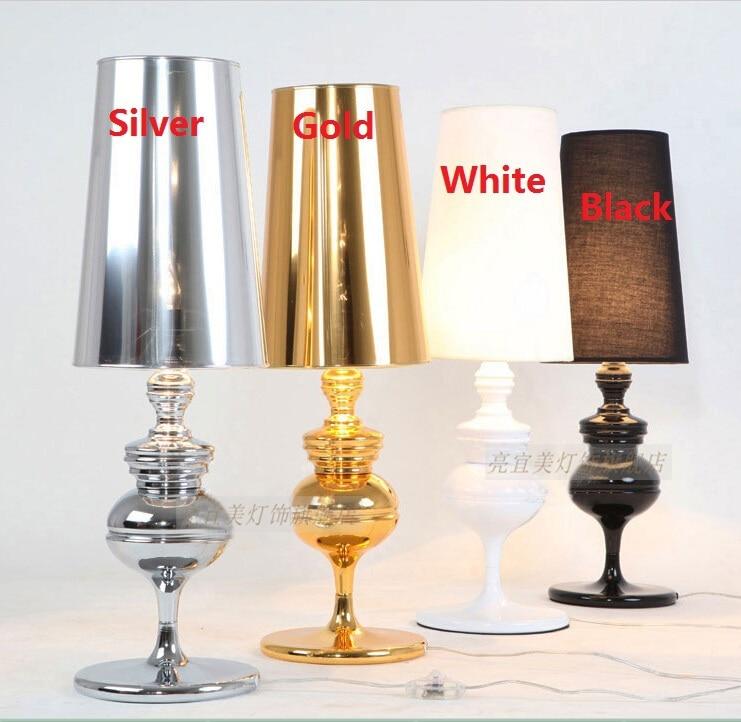 Modern designer bedroom led desk lamp e27 desk light for Table lamp 27 cm