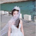 Top Fashion 2016 Wedding Veil Accessories Net Bridal Veil White Bridal Veil