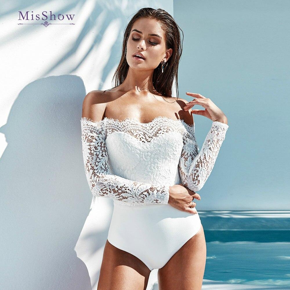 Slash Neck Sexy Long Sleeve Lace Up Women Bodysuit White Black   Jumpsuit   Elegant Romper Skinny Bodysuit Women Long Sleeve Blouse