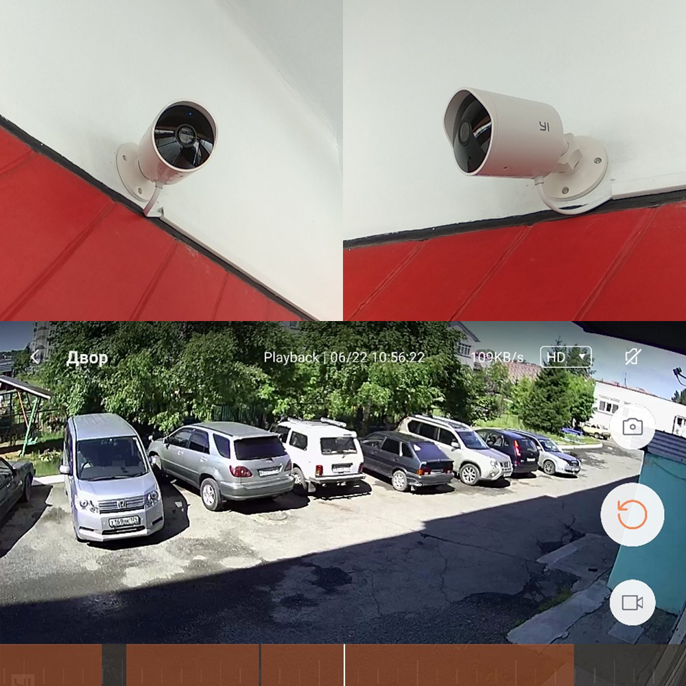 YI Outdoor Security Camera 1080p Waterproof Cloud Cam Wireless IP Camera 1080P HD Night Vision Surveillance System-in Surveillance Cameras from Security & Protection    3