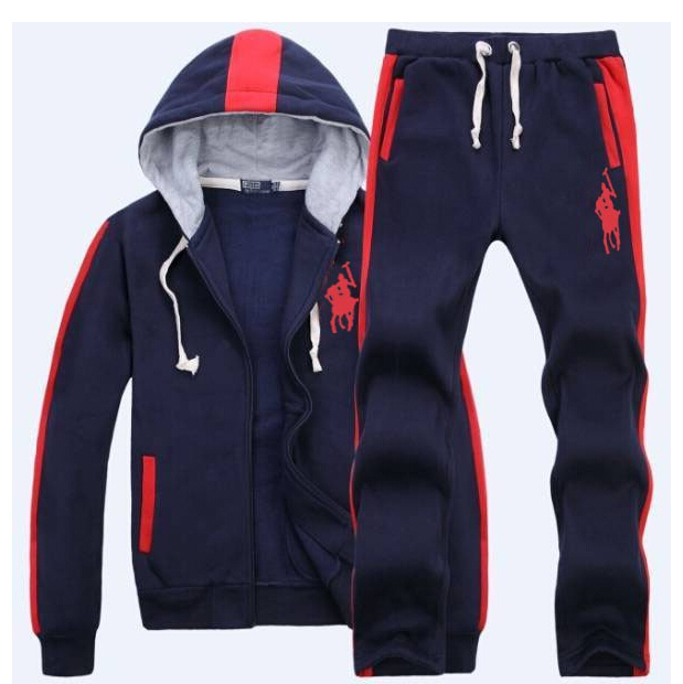 5e68da389 2015 New Tracksuits Hoodie Polo Men's Zipper Cardigan Sport Suits Coats  Jacket Set Pants Sportswear Brand Male sweatshirt