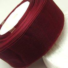 """10 ярдов/партия) """"(50 мм) ленты из органзы винного цвета,, украшения для упаковки подарков, рождественские ленты D048"""