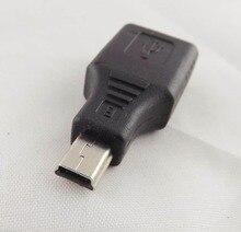 1Pcs F/M USB 2.0 A Female To Mini USB B 5 Pin Male Plug OTG Adapter Converter