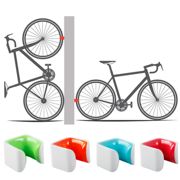 Portable Road Bike Wall Parking Buckle Beautiful Parking Frame 700Cx23C-28C Bicycle Wheel Clamp Parking Frame