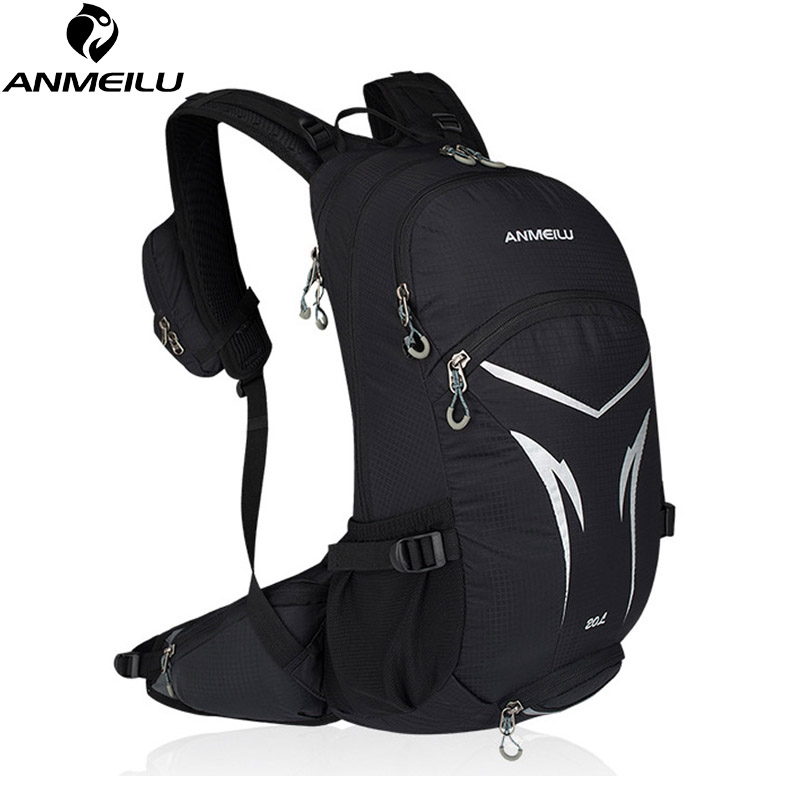 ANMEILU 20L Bicycle Backpack,Moutain Hiking Climbing Bag,Bike Rucksack with Rain Cover,Waterproof Cycling Backpack No Water BagANMEILU 20L Bicycle Backpack,Moutain Hiking Climbing Bag,Bike Rucksack with Rain Cover,Waterproof Cycling Backpack No Water Bag