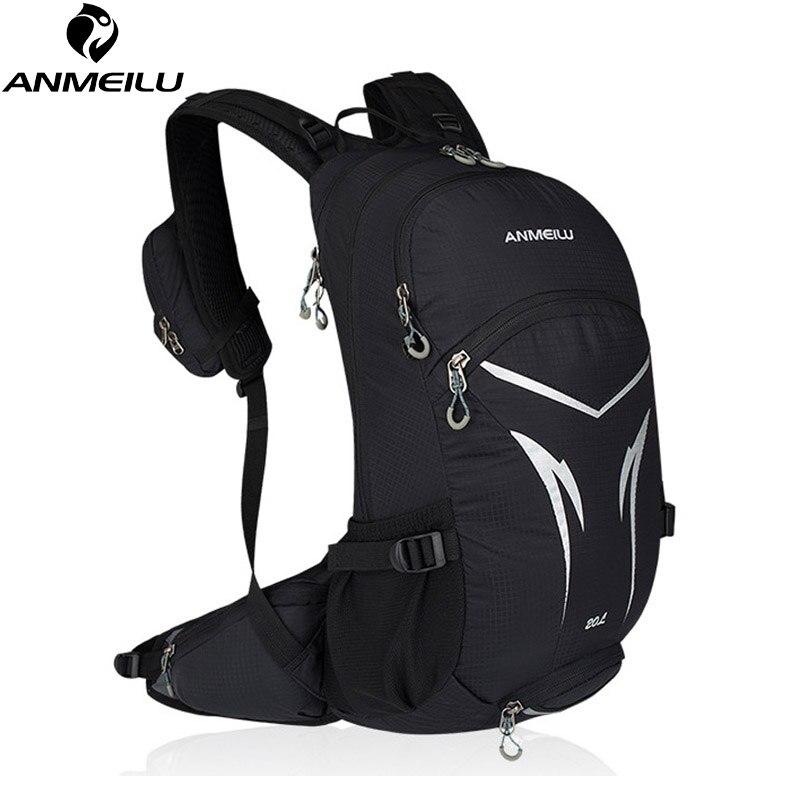 ANMEILU 20L sac à dos de vélo, sac d'escalade de randonnée de montagne, sac à dos de vélo avec couverture de pluie, sac à dos de cyclisme étanche sans sac d'eau