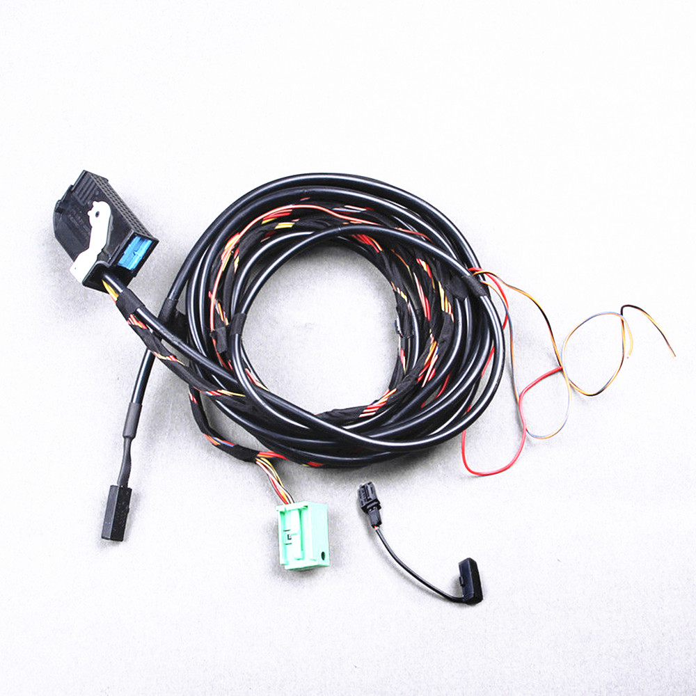 COSTLYSEED VW RNS510 RCD510 9W2 Bluetooth Module+Plug&Play  Harness+Microphone For VW Jetta MK5 Passat B6 Golf MK6 Touran CC Eos -in  Cables, ...