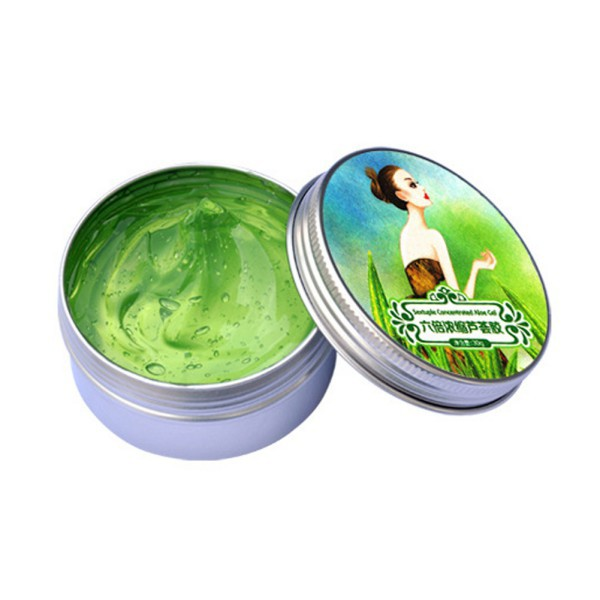 2018 New Women Aloe Vera Gel Cream Remove Acne Whitening Moisturizing Face Skin Care  Sets Six Times Concentrated Essence Pro