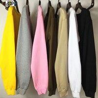Fashion Oversized T Shirt Homme Kanye WEST Clothes T Shirt Long Sleeve Hip Hop Tshirt SWAG