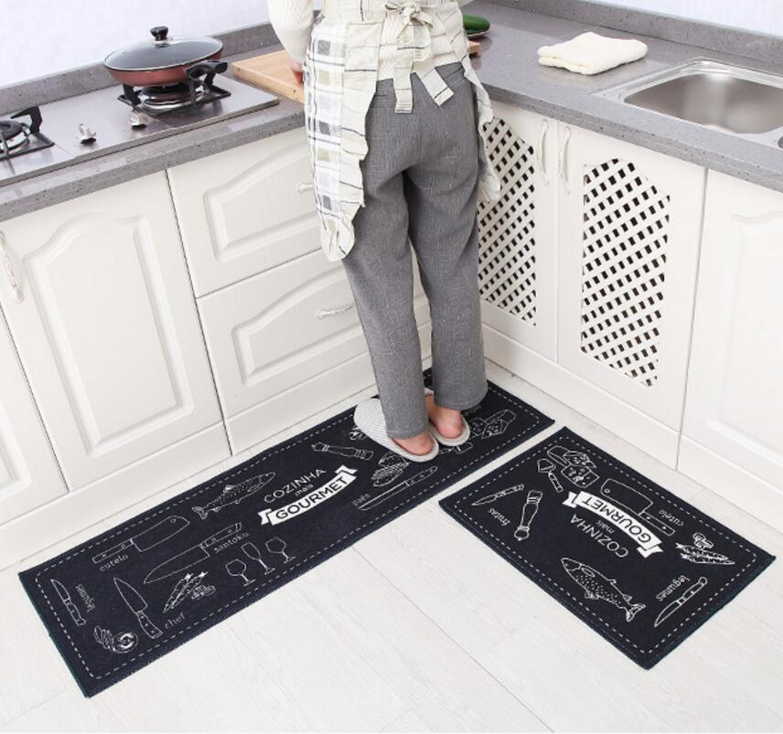 Superieur 2PCS Modern Kitchen Mat Cheaper Anti Slip Area Rugs Living Room Balcony  Bathroom Carpet Set Doormat Bath Mats Bedroom Tapete In Mat From Home U0026  Garden On ...