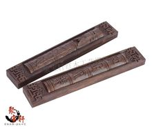 Annatto paperweight solid wood carving household act the role ofing is tasted antique treasures paper weight of a couple